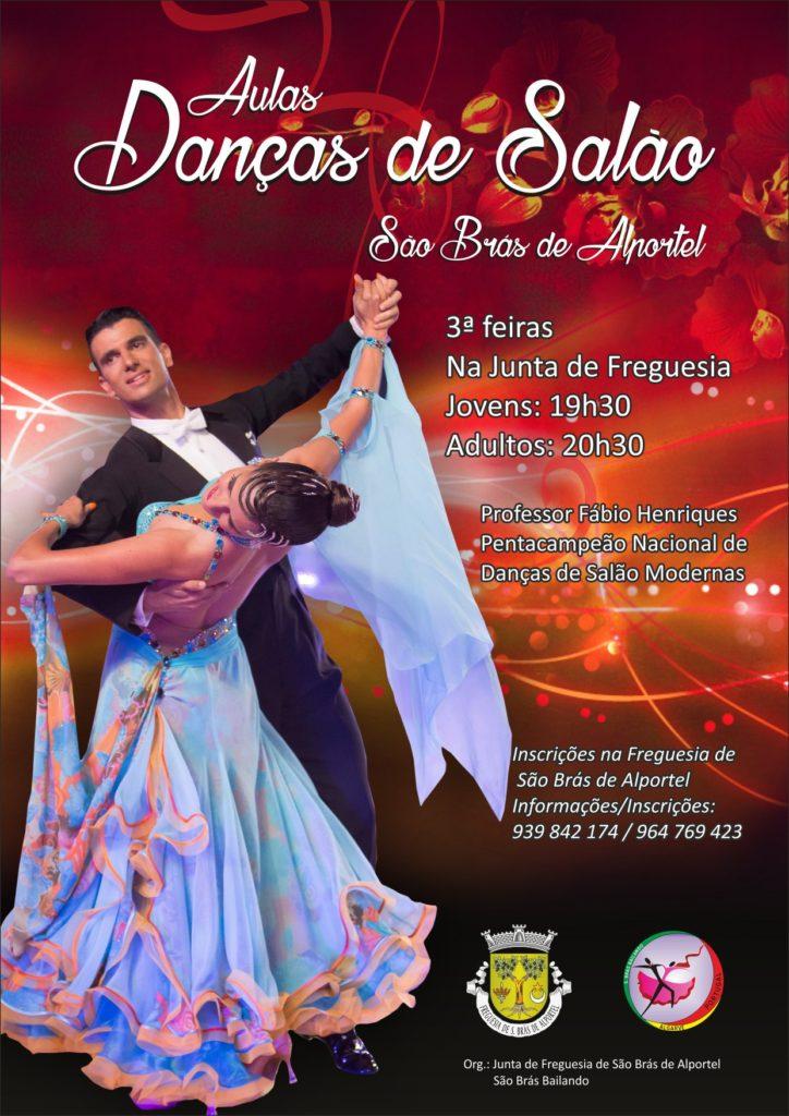 e7be66eb0d Org  Junta de Freguesia de São Brás de Alportel   São Brás Bailando.  dancas salao cartaz